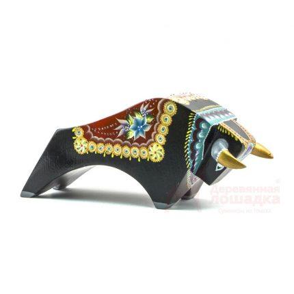Символ 2021 года «Бык» БК2 1 900Р РАЗМЕРЫ 225*90*90 Фигурка выполнена в стиле «Коррида» и в полной мере передает силу и мощь быка